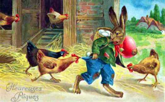 La leyenda del conejo de pascua a la luz de la verdad for El conejo de pascua