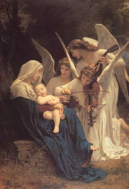 angeles-de-bouguereau